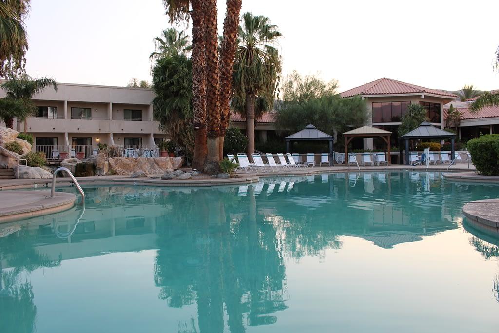 natural hot mineral pools