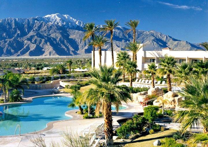 miracle springs resort pool courtyard view