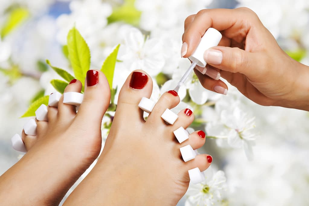 pedicure spa services at miracle springs