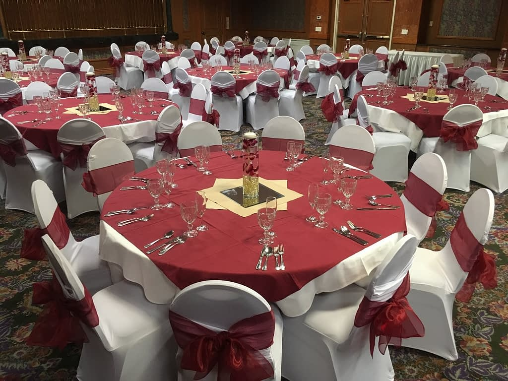 event in the ballroom