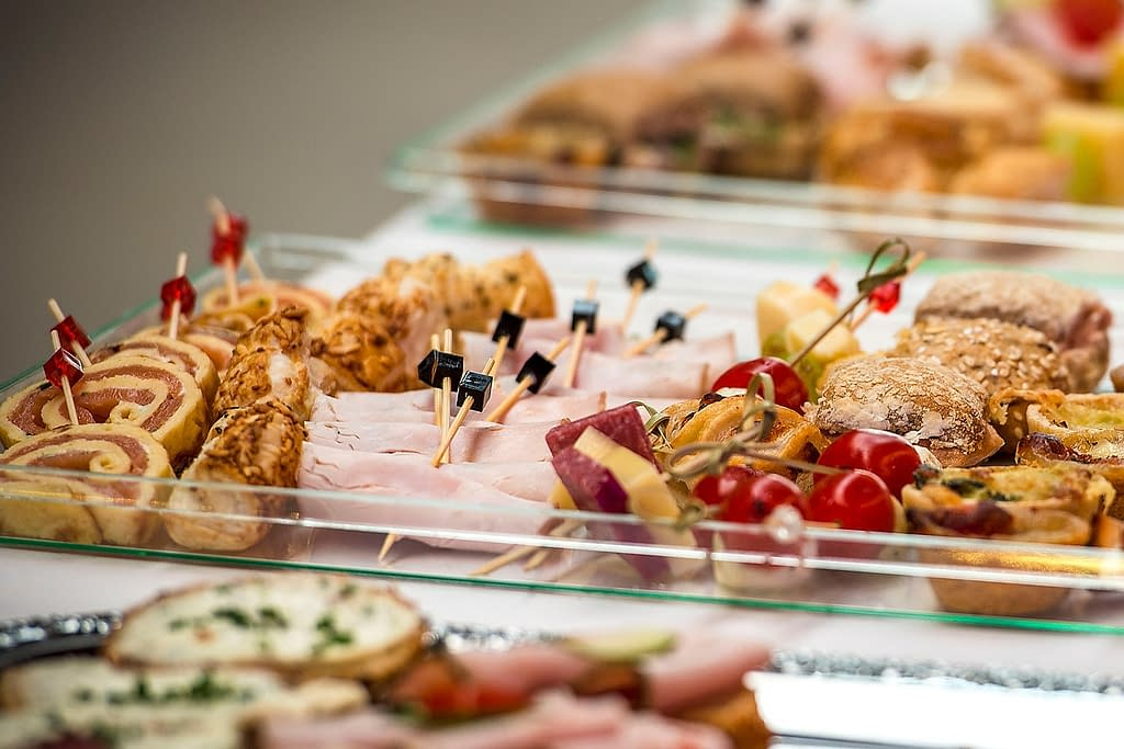 finger food, party spiess, eat