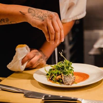 Capri Italian Restaurant kitchen