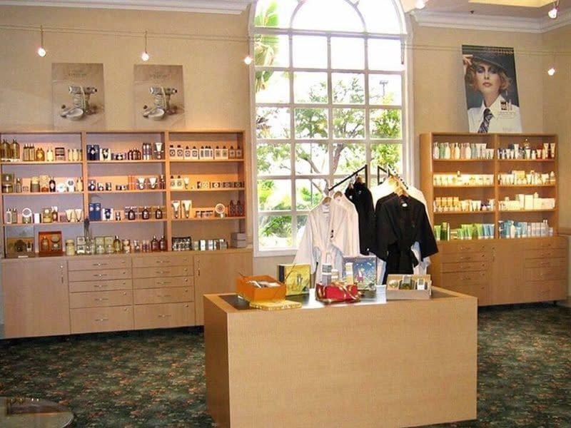 Spa shop at the Miracle Springs Resort
