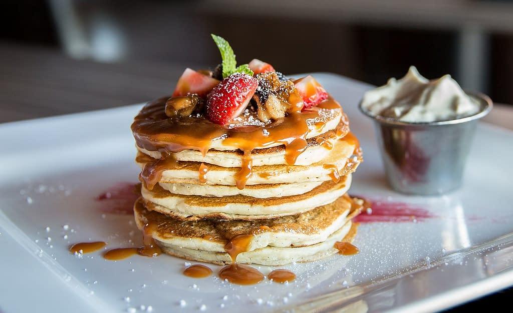 Pancakes from the Capri