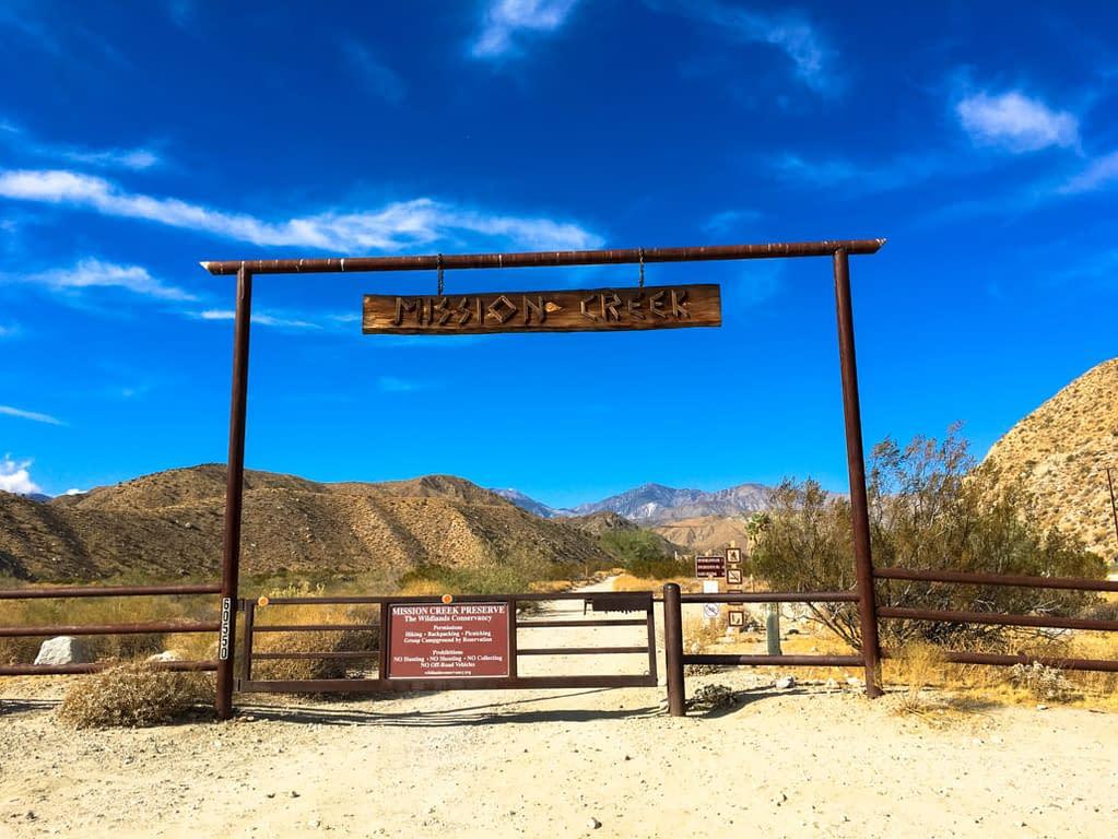 Mission Creek Preserve in Desert Hot Springs
